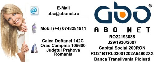 Informatii contact ABO NET Nume .info